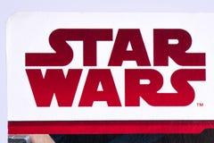 Star Wars logo arkivfoton