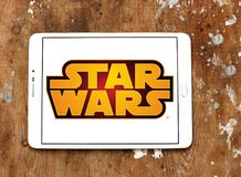 Star Wars logo Royaltyfria Bilder