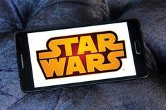 Star Wars logo Fotografia Stock