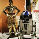 Star Wars. Museum Stock Images