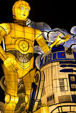 Star Wars Nebuta Parade Float Royalty Free Stock Photography