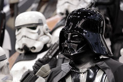 Star wars personnage at Comic con in Montreal Royalty Free Stock Images