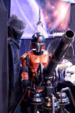 Star Wars powieściowy charakter bada pistolet Obraz Royalty Free