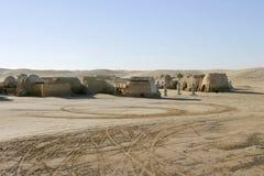 Star Wars scenerii Ong Jemel blisko Nefta Tunezja Obrazy Royalty Free