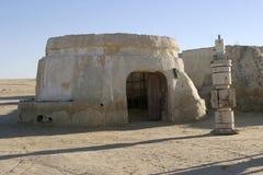 Star Wars scenerii Ong Jemel blisko Nefta Tunezja Obrazy Stock