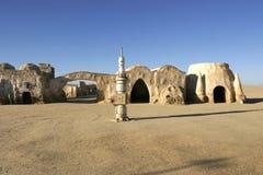 Star Wars scenerii Ong Jemel blisko Nefta Tunezja Fotografia Stock