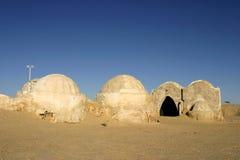 Star Wars scenery Ong Jemel near Nefta Tunisia Royalty Free Stock Images
