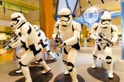 Star Wars at Singapore Changi Airport Stock Photos