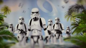 Star Wars storm troopers Stock Images
