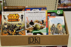 Star Wars Toy Display for Force Friday Royalty Free Stock Photos