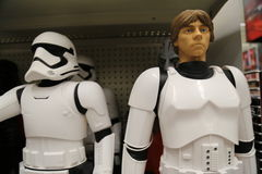 Star Wars Toy Display for Force Friday Stock Images