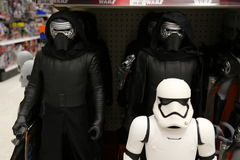 Star Wars Toy Display for Force Friday Royalty Free Stock Photo