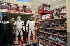 Star Wars Toy Display for Force Friday Royalty Free Stock Photography