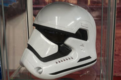 Star wars trooper helmet Royalty Free Stock Photography