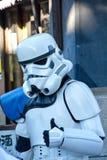 Star Wars Trooper. Portrait in Japan Stock Photo