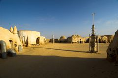 Star wars village Stock Image