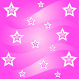 Star waves. Pattern Stock Images