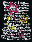 Star writing illustration Royalty Free Stock Image