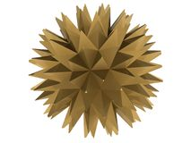 Star of the yellow metal Stock Photo