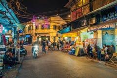 Stara ćwiartka Hanoi fotografia royalty free