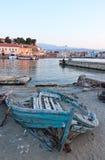 Stara łódź. Zdjęcie Stock