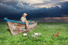stara łódź Zdjęcie Royalty Free