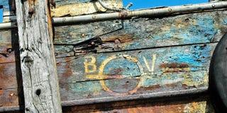 stara łódź Obrazy Royalty Free
