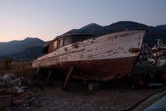 stara łódź zdjęcia royalty free