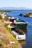 stara łódź na ryby Obraz Royalty Free