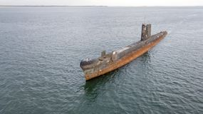 Stara łódź podwodna 03 fotografia royalty free