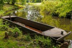 stara łódź rusty Fotografia Royalty Free