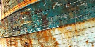 Stara łódź rybacka, Camaret Zdjęcie Royalty Free