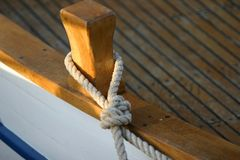 stara łódź szczegół Obraz Royalty Free