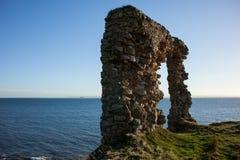 Stara łękowata ruina Obraz Royalty Free