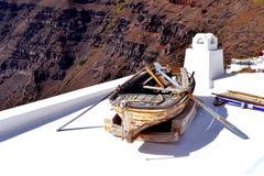 Stara łamająca łódź rybacka Obraz Stock