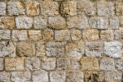 Stara ściana w Dubrovnik obraz stock