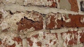 Stara ściana z antycznym brickwork, ceglany tło zbiory