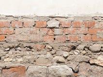 Stara ściana z cegłami obraz stock