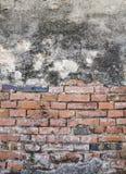Stara ściana z cegieł tekstura Zdjęcia Royalty Free