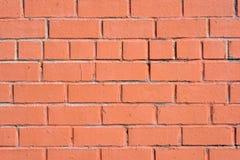 Stara ściana z cegieł tekstura, tło lub Fotografia Stock