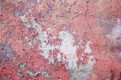 Stara ściana z krakingową farbą Fotografia Royalty Free