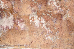 Stara ściana z krakingową farbą Obraz Royalty Free