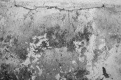 Stara ściana z krakingową farbą Obrazy Royalty Free