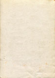 Stara śmietanka papieru tekstura Zdjęcie Royalty Free