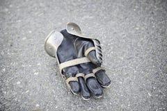 Stara średniowieczna rękawiczka Zdjęcia Stock
