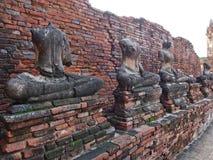 Stara świątynia przy Ayuthaya, Tajlandia Zdjęcia Stock