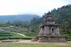 Stara świątynia przy wzgórzem Obraz Stock