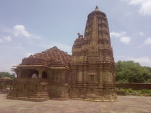 Stara świątynia władyki shiva w menal fotografia stock