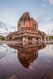 Stara świątynia w północnym Tajlandia Zdjęcia Royalty Free