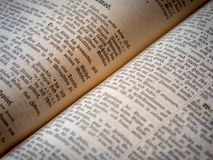 Stara święta biblia, antyk, religia zdjęcia stock